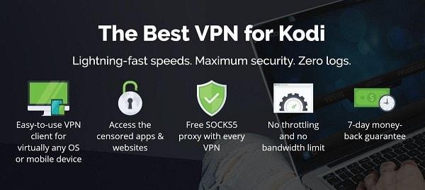 选择最好Kodi VPN在中国